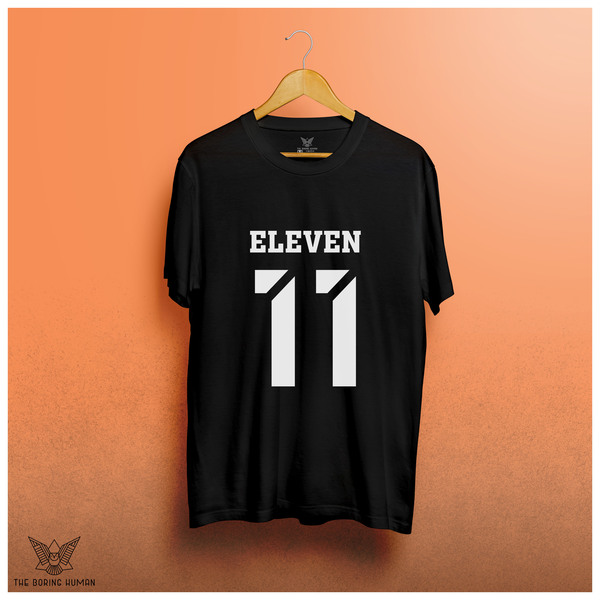 Eleven Stanger Things Web Series T-shirt