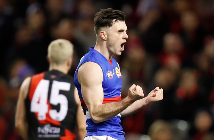 McLean's showing for Western Bulldogs