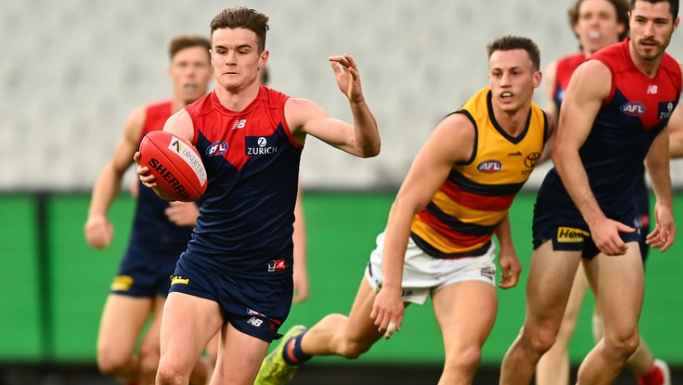 Perfect seven for Fritsch as Melbourne hold Adelaide at bay