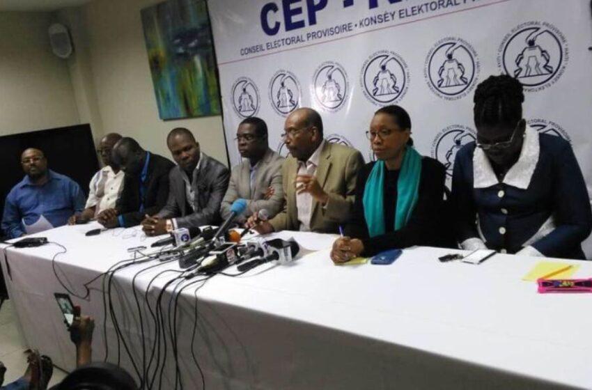 Les membres du CEP vident les lieux