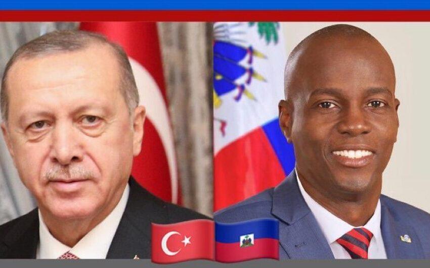 Jovenel Moïse s'entretient avec son homologue Turc, Recep Tayyip Erdogan