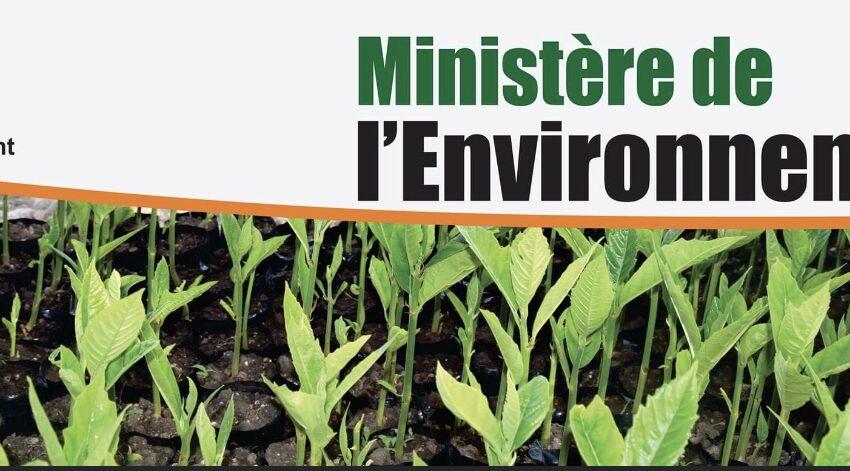 Le ministère de l'Environnement lance une campagne pour la préservation de l'environnement