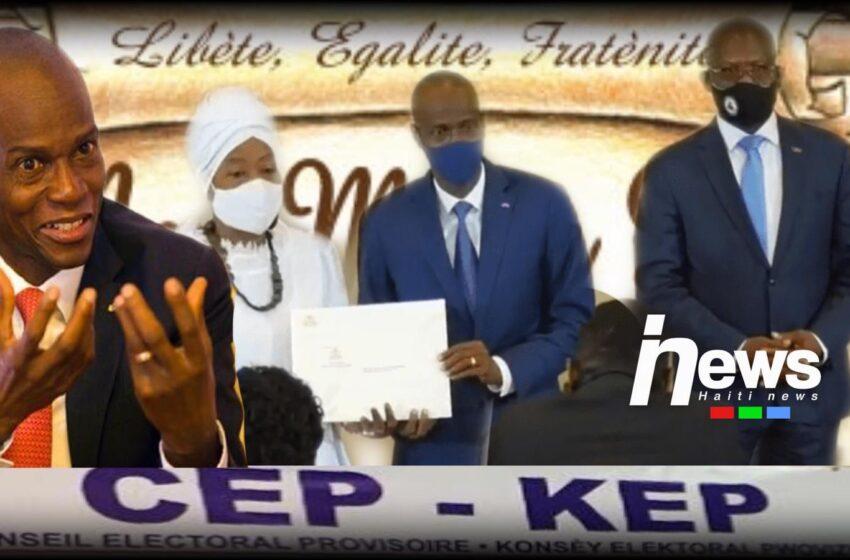 Jovenel Moïse viole la constitution et installe son CEP