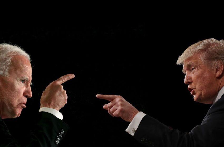 """Biden accuse, Donald Trump réplique et demande à son rival d'effectuer un """"test antidopage"""" avant ou après l'élection"""