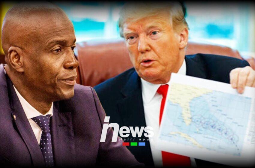 """Administrasyon Trump lan mande prezidan Jovenel Moïse fè eleksyon yo """"prese prese"""""""