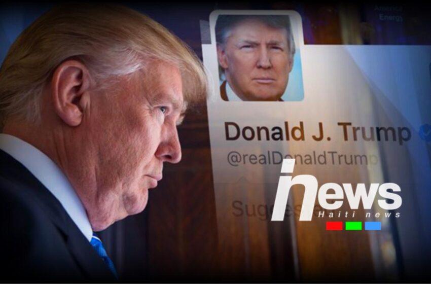 Le réseau Twitter bloque le compte de Donald Trump