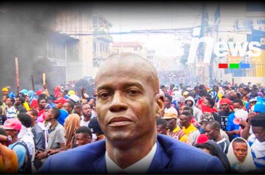 Opozisyon demokratik la anonse 7 fevriye se dènyè jou Jovenel Moïse nan Palè Nasyonal
