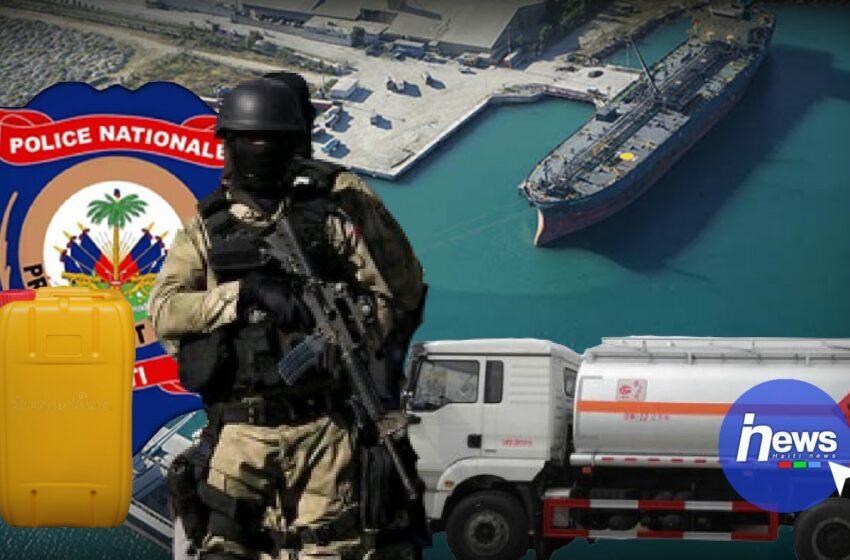 Une centaine de camions de carburant s'approvisionne au terminal Varreux avec le support de la PNH