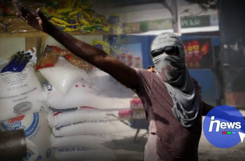 Des entreprises commerciales de Delmas et Cité Soleil pillées par des individus armés