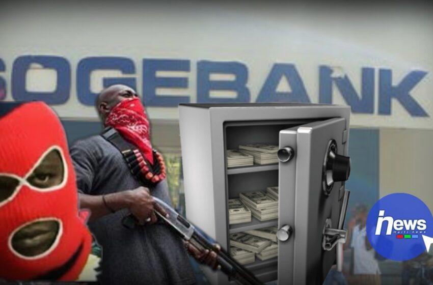 Une filiale de la SOGEBANK attaquée et dévalisée par des bandits à Martisssant