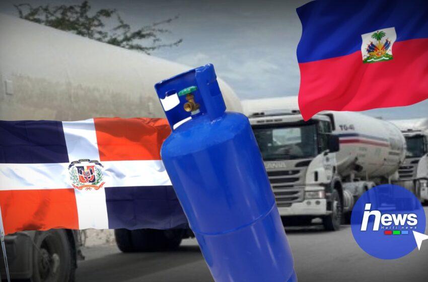 Le gouvernement dominicain autorise le passage de 20 réservoirs de gaz propane vers Haïti