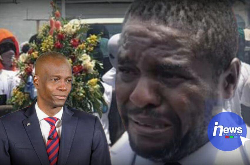 « Babekyou », en pleurs, offre un dernier hommage à Jovenel Moïse