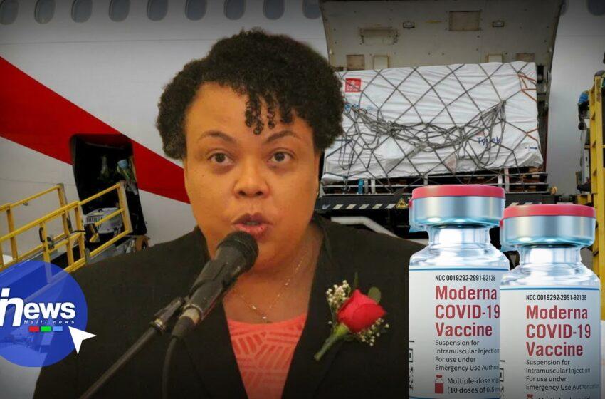 Haïti reçoit 500 000 doses du Vaccin Moderna