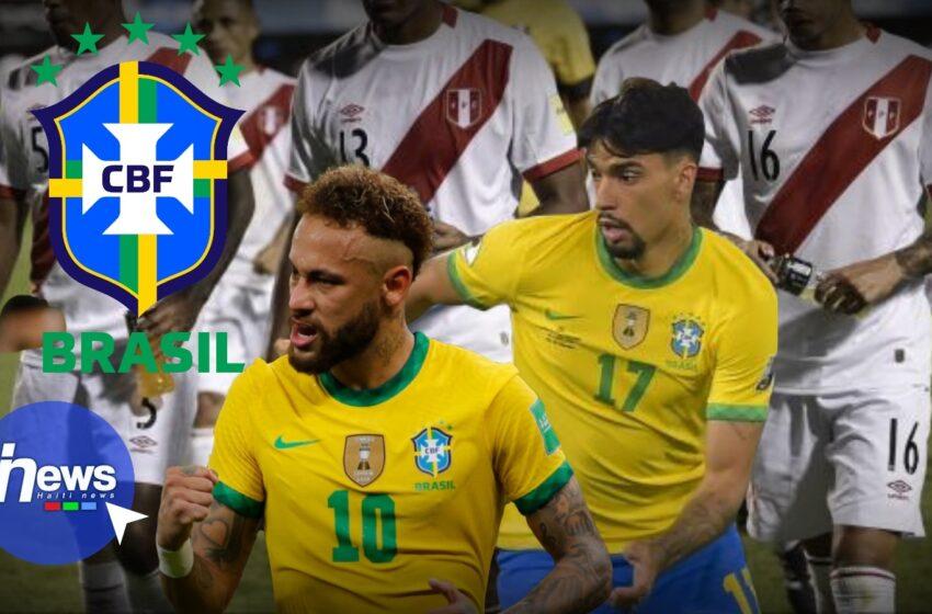 Le Brésil domine le Pérou et se rend en finale