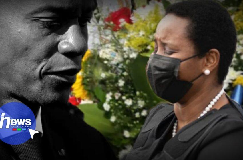 La Première Dame, Martine Moïse, de retour en Haïti