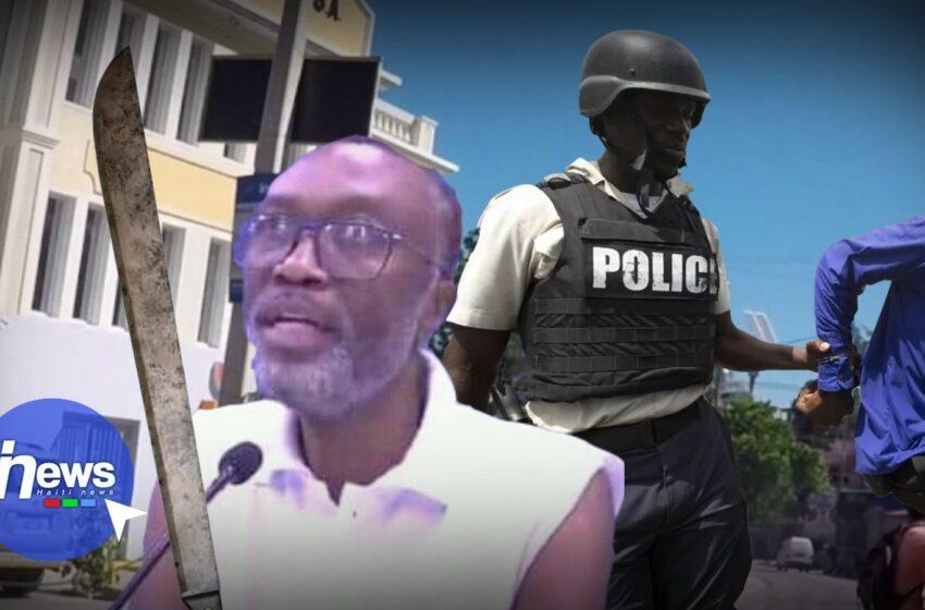 Le journaliste Carl Dieudonné a été appréhendé par les forces de l'ordre à Pétion-ville