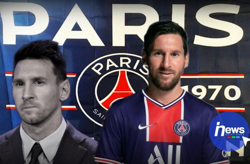 C'est officiel, Lionel Messi s'engage avec le PSG