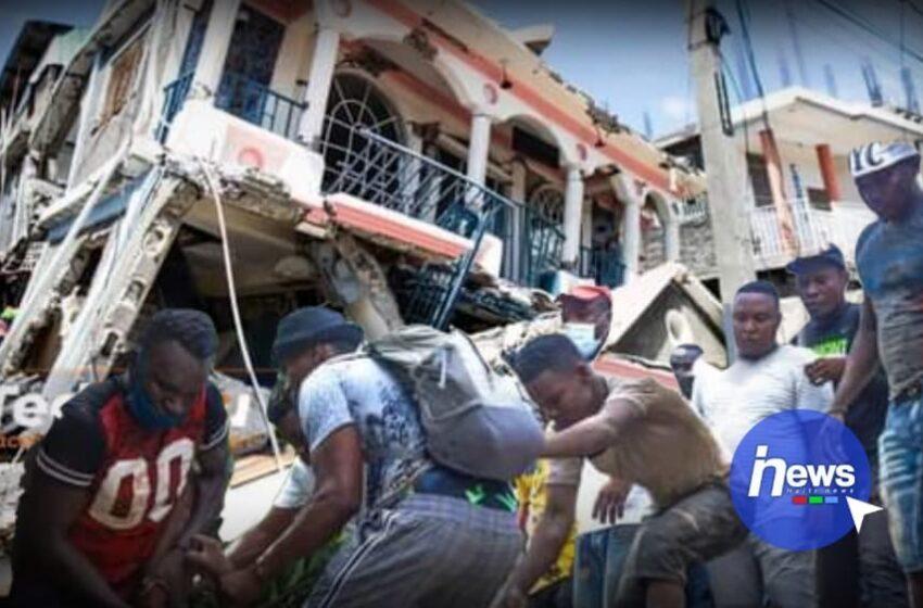 Séisme : bilan partiel, 227 morts et des centaines de blessés