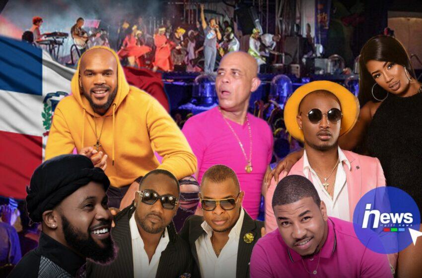 Les artistes Haïtiens performent plus en République Dominicaine