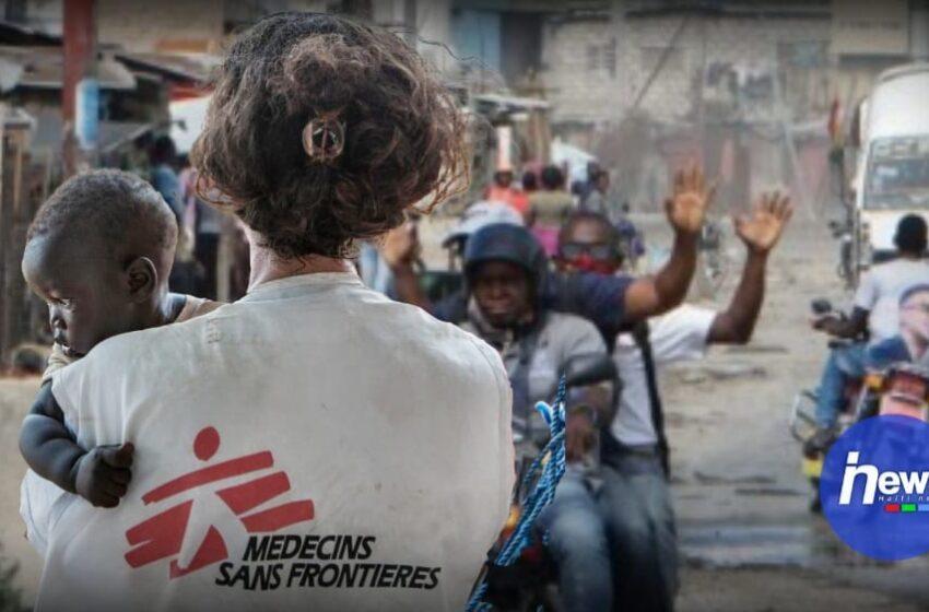 Médecins sans frontières ferme définitivement ses portes à Martissant