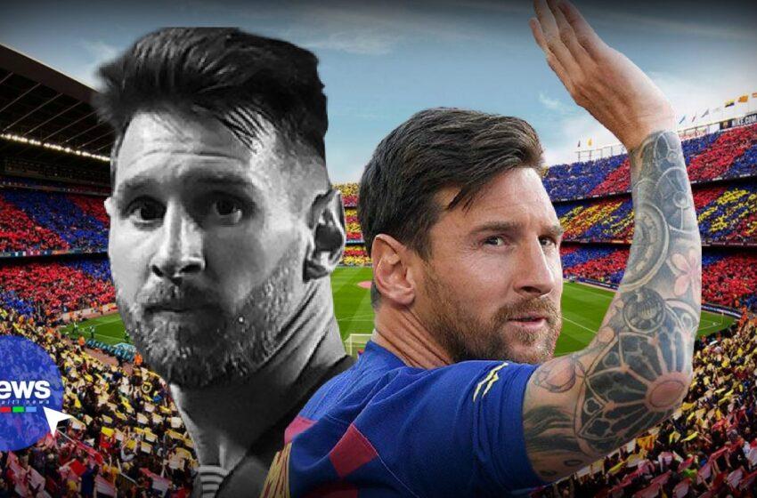 Football : coup de tonnerre à Barcelone, Lionel Messi quitte le club