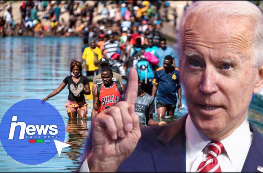 L'administration Biden dit non aux réfugiés Haïtiens
