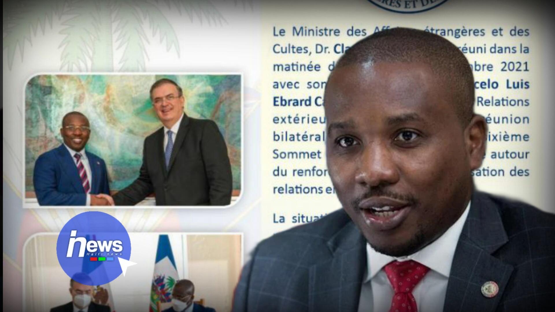 Signature d'un Accord de collaboration académique entre Haïti et le Mexique