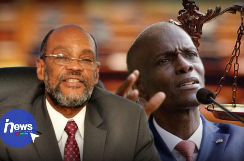 Le Premier ministre Ariel Henry promet de rendre justice à Jovenel Moïse