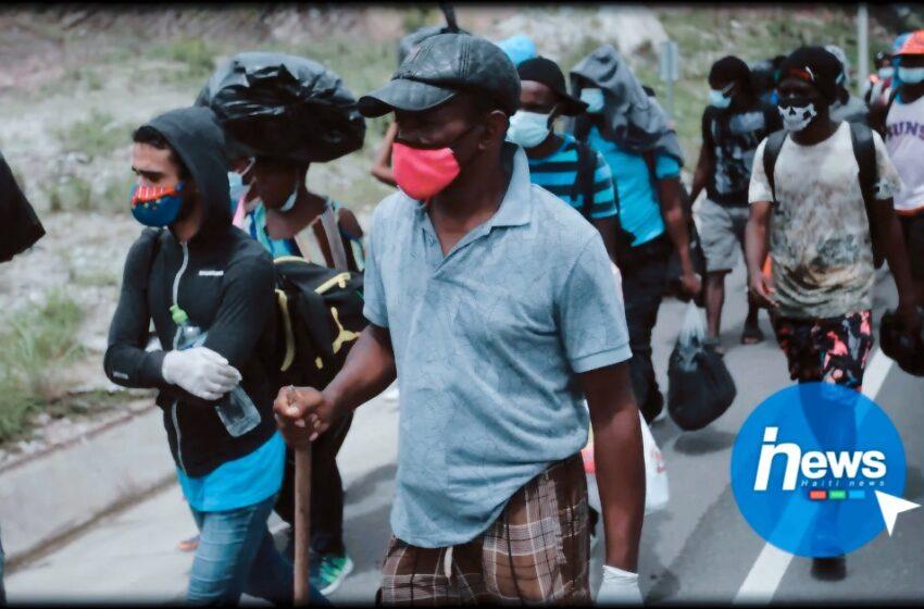 Milliers de migrants haïtiens en route vers les USA bloqués en Colombie