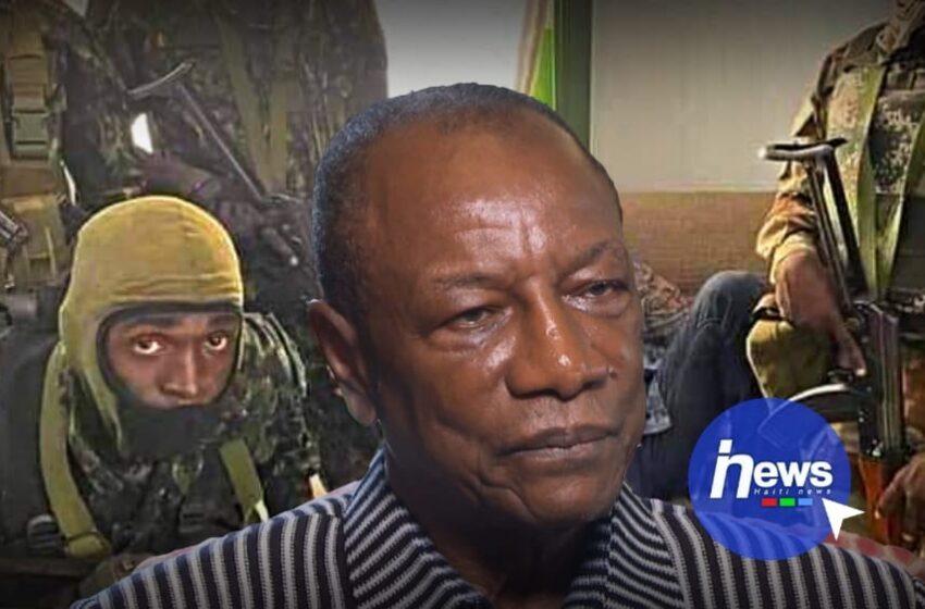 Coup d'État en Guinée, le président Alpha Condé aux mains des putschistes