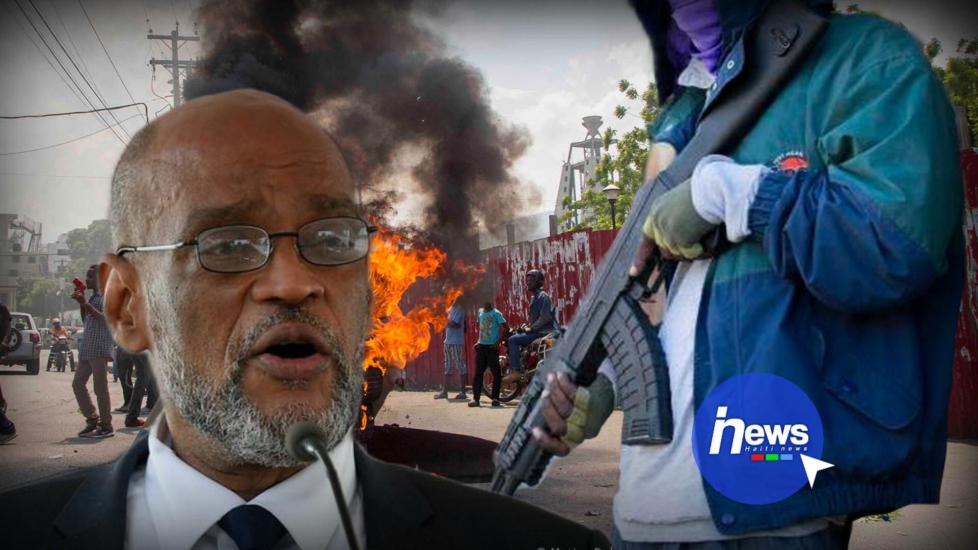Ariel Henry veut rétablir la paix dans le pays