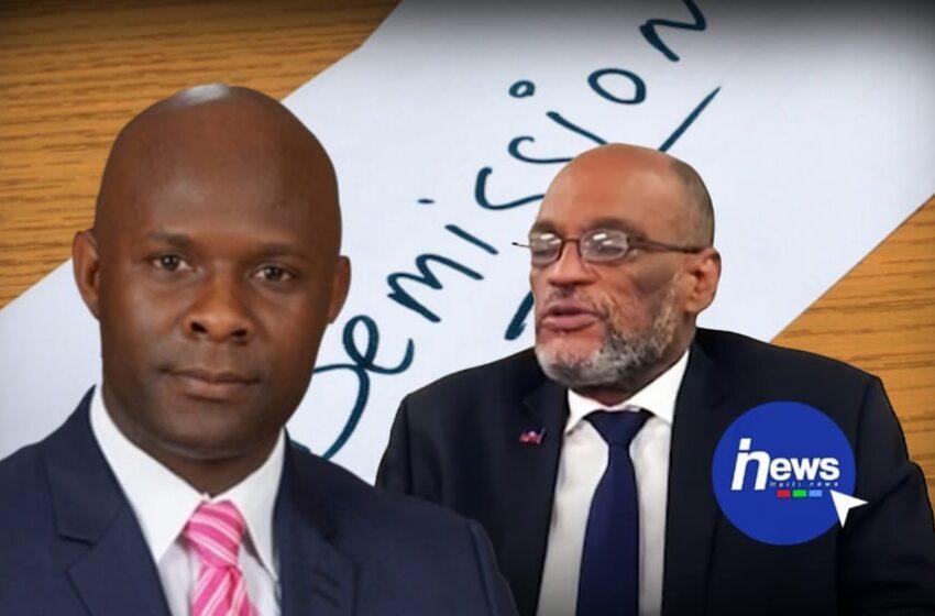 Rénald Lubérice réclame la démission de Ariel Henry
