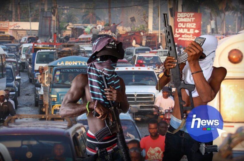 Embouteillage monstre à Port-au-Prince, des bandits contrôlent la circulation