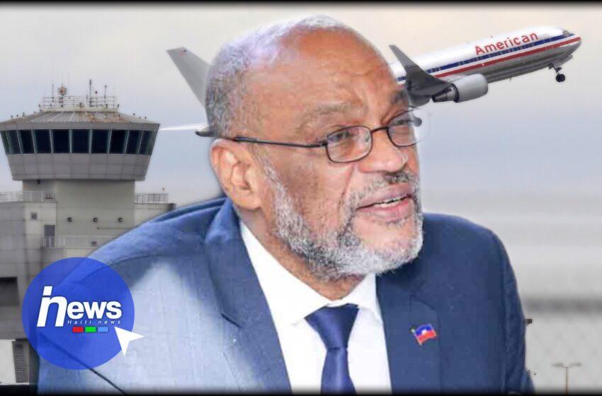 Levée de la mesure d'interdiction de départ émise contre Ariel Henry