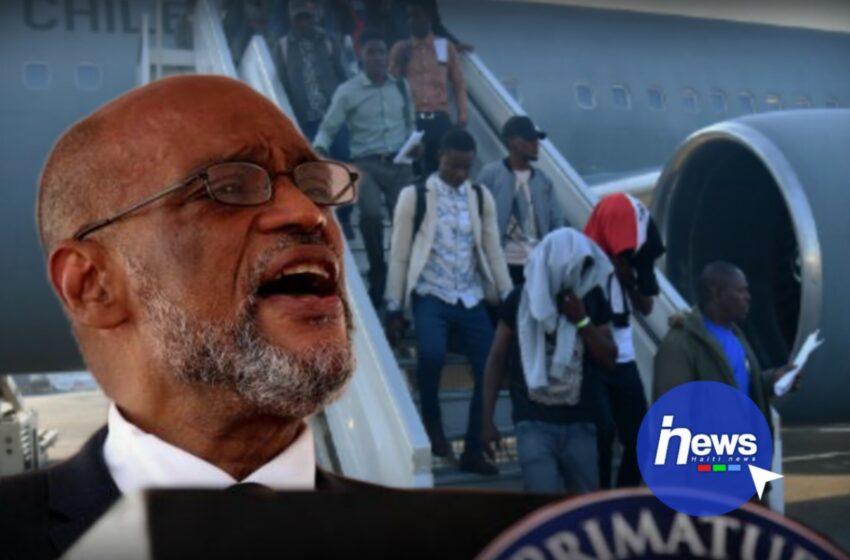 Les expulsions d'Haïtiens aux USA commencent, Ariel Henry promet de les accompagner