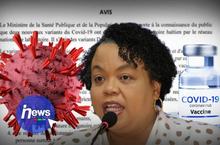 Les variants Delta et MU détectés en Haïti