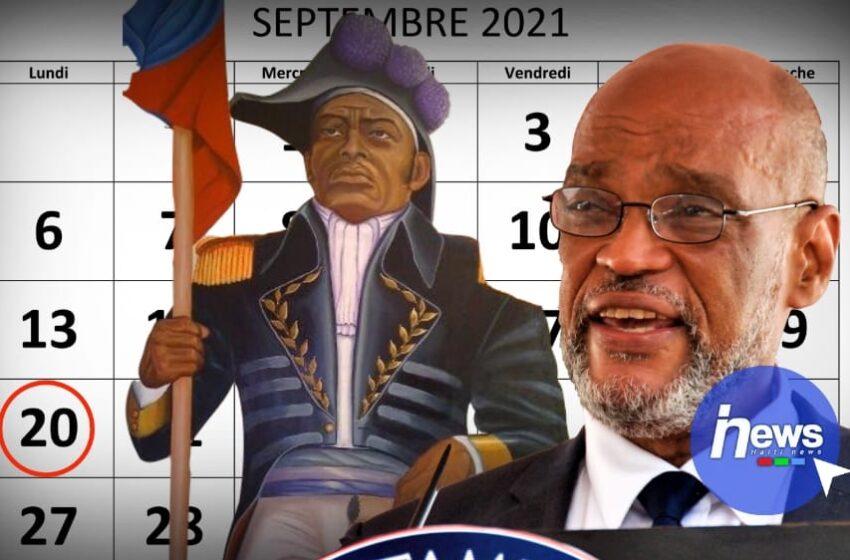 Le 20 septembre , jour de Dessalines sera chômé