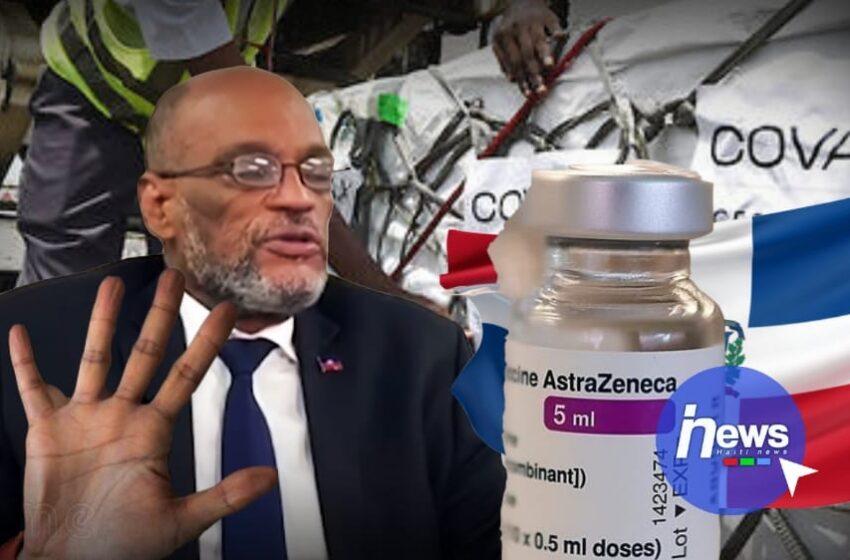 Coronavirus : Haïti a refusé un don de 100 000 doses de vaccin de la République dominicaine