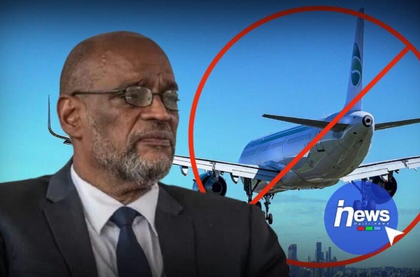 Le Premier ministre Ariel Henry sous le coup d'une interdiction de départ