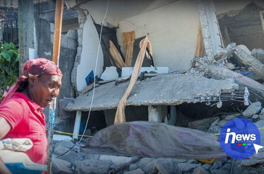 Seisme : le nouveau bilan s'élève à 2 246 morts