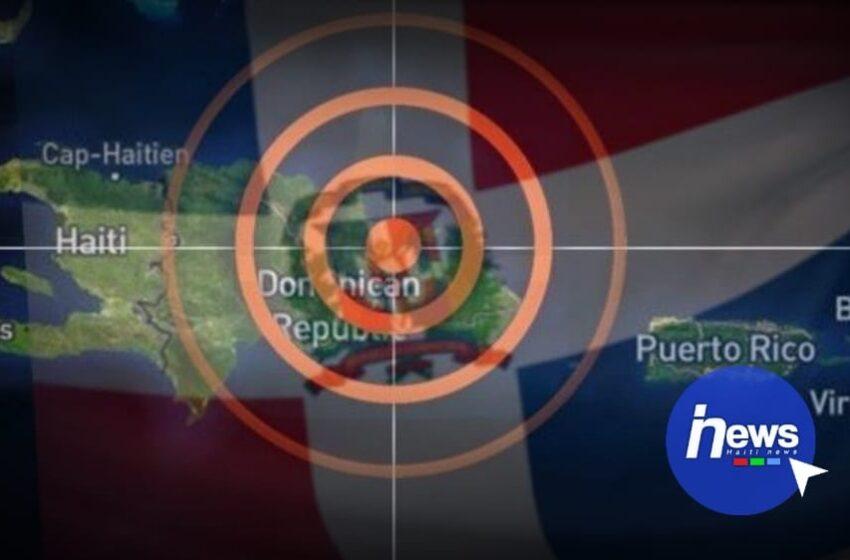 Un tremblement de terre secoue la République dominicaine
