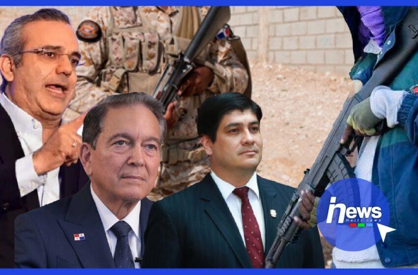 Trois présidents optent pour le désarmement en Haïti