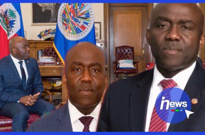 Léon Charles promu ambassadeur d'Haiti à l'OEA