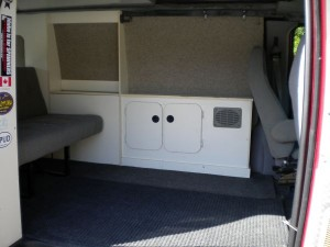 "Sportsmobile ""Lite"" Interior"