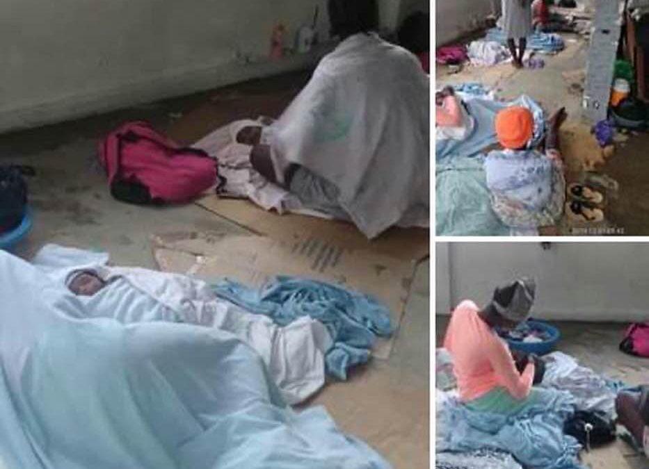 Newborn Babies & Their Mothers Held Hostage