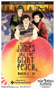 james and giant peach flatrock