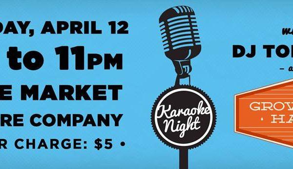 The Market Theatre Company Presents KARAOKE NIGHT @ Anderson Arts Center | Anderson | South Carolina | United States