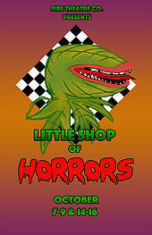Little Shop of Horrors by FIRE Theatre Company @ Younts Center for Performing Arts