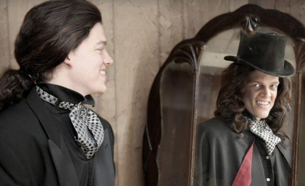 Josh Thomason plays Dr. Jekyll and Mr. Hyde. Photo by Escobar Photography