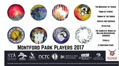 Montford Park Players Announce 2017 Season!